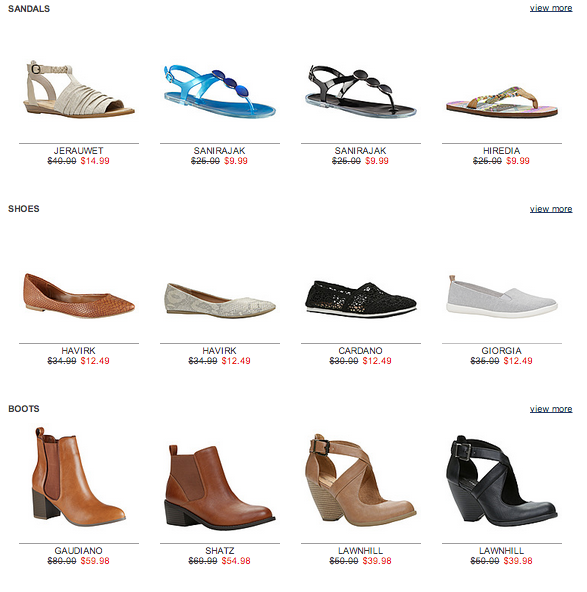 Call It Spring | Spring Shoes Coupons